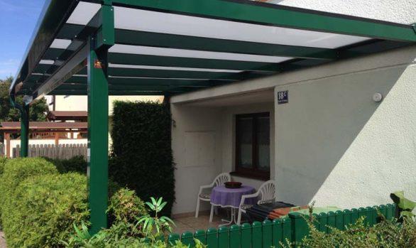 Terrassendach - Eingangsüberdachung