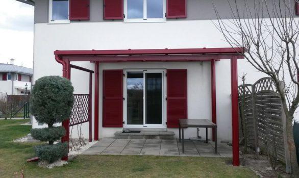 Terrassenüberdachung, Balkonüberdachung