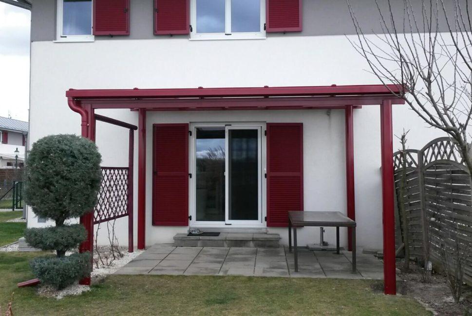 Terrassenuberdachung Balkonuberdachung Homecom At Carports Und