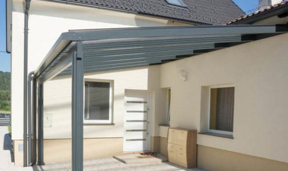 Terrassenüberdachung, Vordach, Pultdach